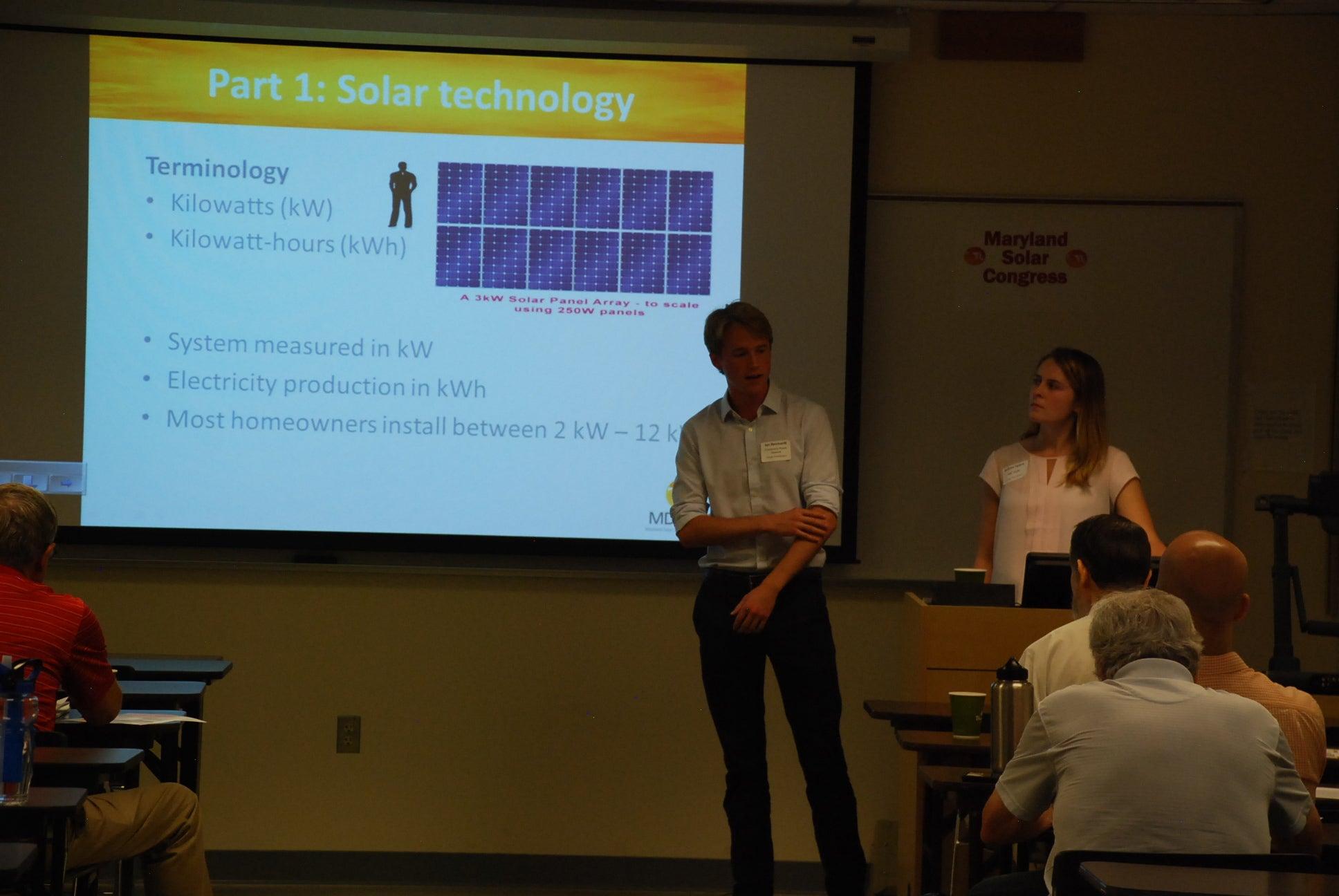 Solar 101 Info Session