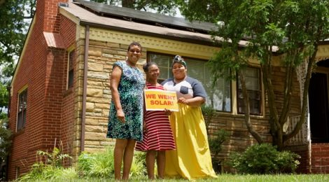 Fern Clark and Family DC Solar Supporters