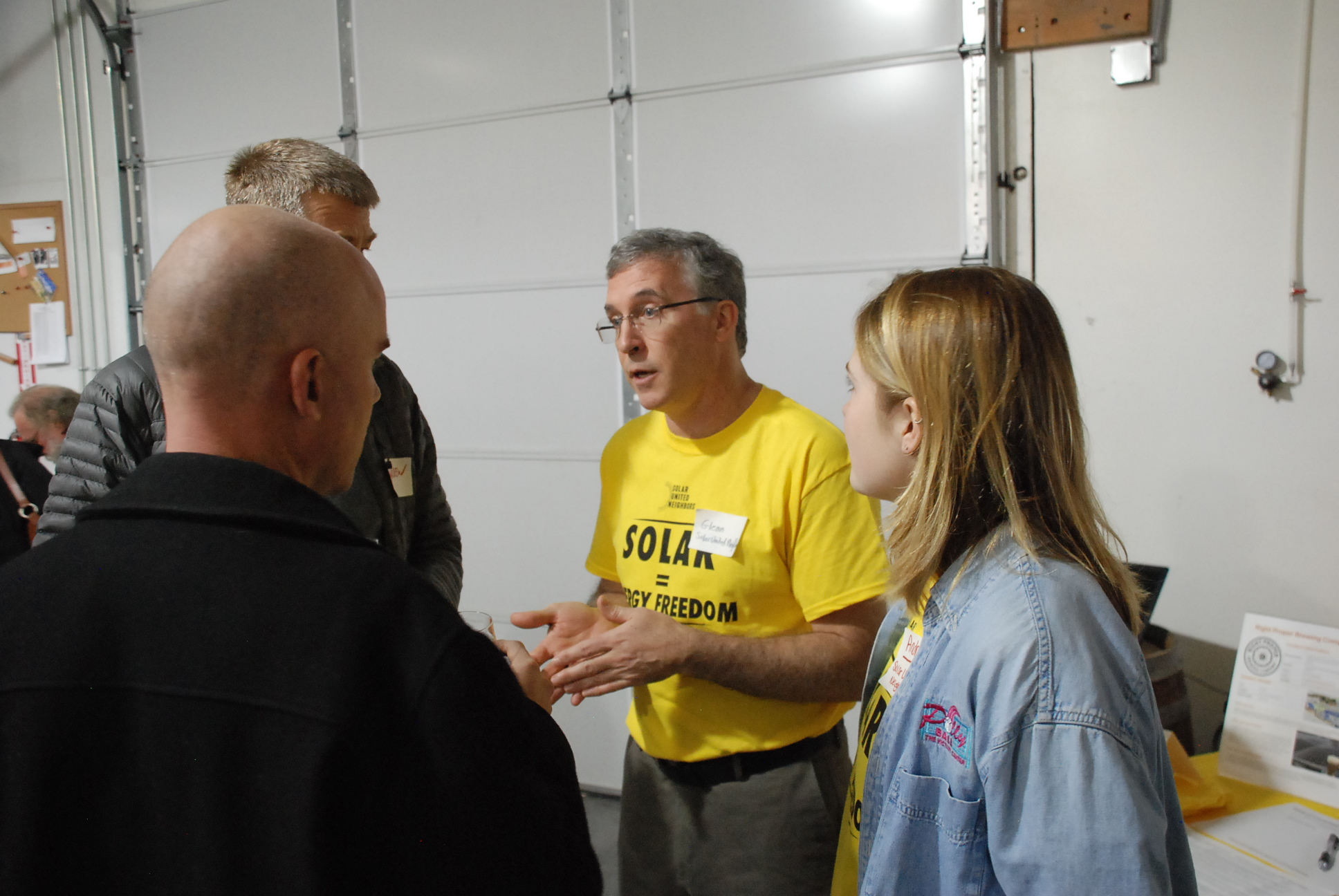 Solar supporters learn about going solar