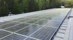 Hackney Millworks solar system