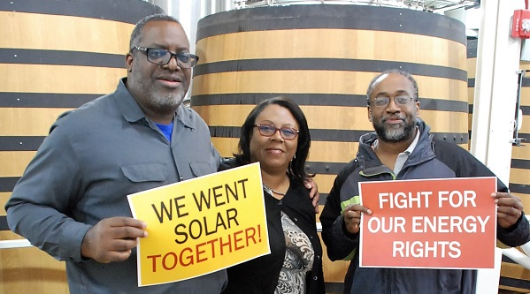 Solar supporters at the 2017 D.C. Solar Celebration