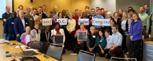 Solar supporters from across the District joined the 2017 D.C. Solar Congress.