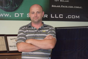 A picture of Doyle Tenney from DT Solar