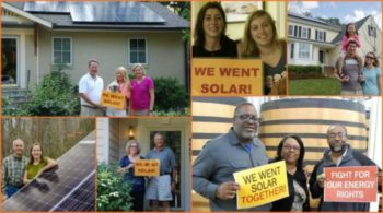 Across the Commonwealth, Virginians are joining together to fight for solar rights!