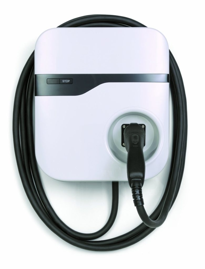 level 2 ev charger utilizes 240v outlet