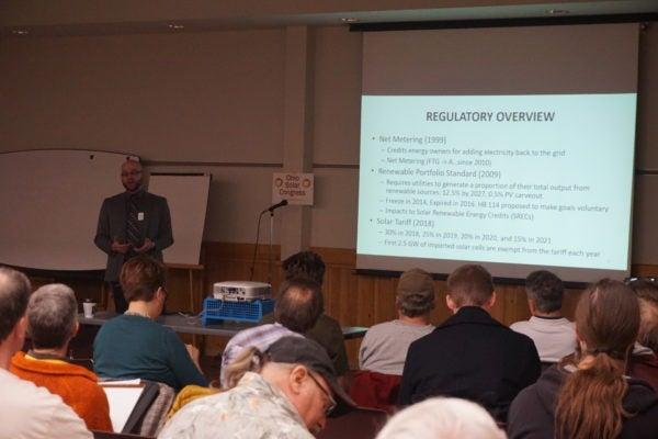 Solar Congress presentation