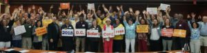 Nearly 100 solar supporters joined us for the 2018 D.C. Solar Congress on Saturday, April 14, 2018.