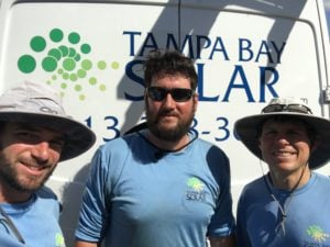 A picture of a man from Tampa Bay Solar