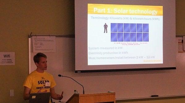 Solar 101 presentation