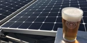 Right Proper Brewing Company in Washington, DC installed a 65 kW solar array in 2017.
