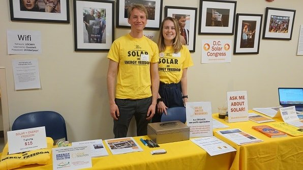 Solar information table