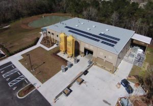 Swamp Head Brewery in Gainesville, Florida has a 17 kW system they installed in 2015.