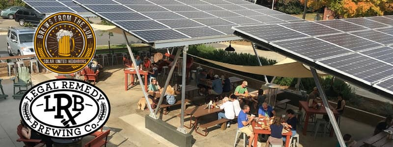 Legal Remedy Brewing Company Solar United Neighbors