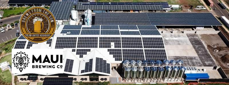 Maui Brewing Company Solar United Neighbors