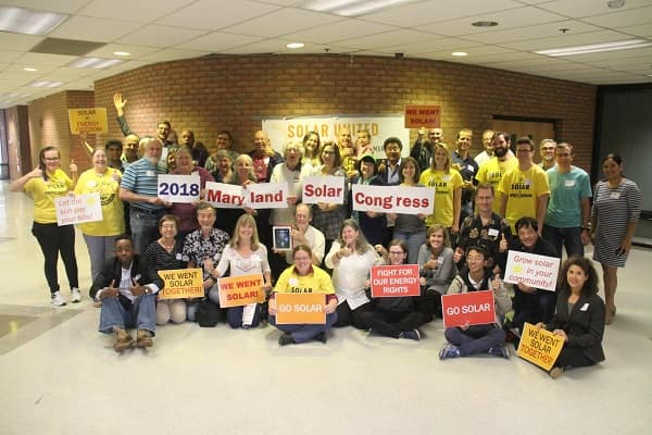 Celebrating solar in Maryland!