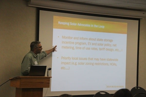 Glen Brand, the Solar United Neighbors Director of Policy and Advocacy, discusses a new program for solar advocates in Maryland