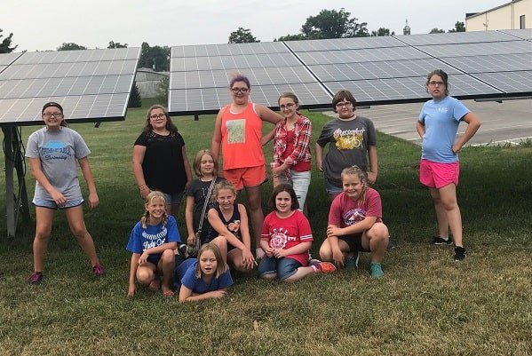 Troop 119 in Dubois, IN was one of the first to complete the SUN Patch.