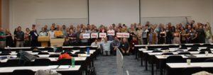 Solar supporters came from across Virginia for the 2017 Virginia Solar Congress.