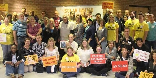 Solar supporters from across Maryland joined together for the 2018 Maryland Solar Congress!