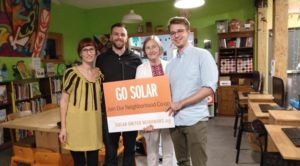 Allegheny County Solar Co-op participants selected Envenity to install solar panels for the group.