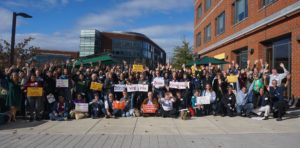 Solar supports from across Virginia gathered for the 2018 Virginia Solar Congress.