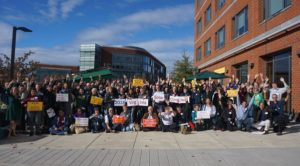 More than 100 solar supports from around Virginia joined together for the 2018 Virginia Solar Congress.