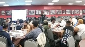 Community members from around the District gathered for two workshops focused on building equity in our energy system.