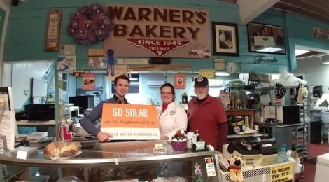 Warner's Bakery in Titusville hosted the selection committee meeting and are also hoping to go solar at their historic bakery through the co-op.