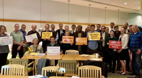 Virginians lobby their representatives in Richmond to push for solar freedom
