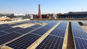 D.C. Community solar array