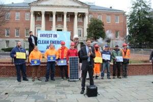 Clean energy jobs Maryland