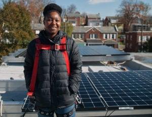 LaToya Smith solar array