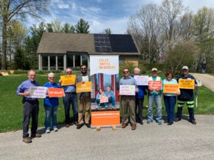 Indianapolis Solar Co-op Launch event