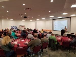 West Virginia Program Director Autumn Long addresses Solar Congress attendees