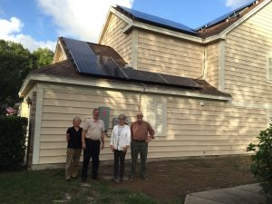 Michael Cohen with solar on roof