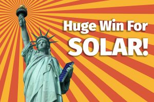 Huge win for solar rights
