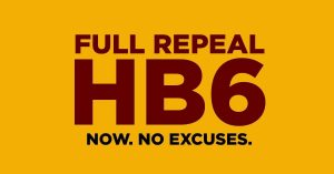 FULL REPEAL HB6. NOW. NO EXCUSES.