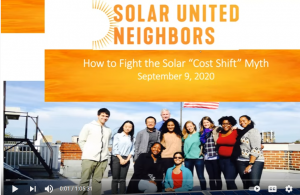 How to Fight Solar Cost Shift Myth