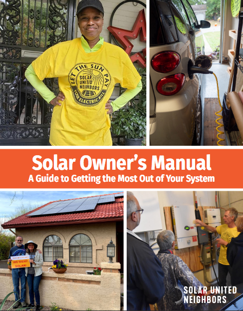 Solar Owner's Manual cover