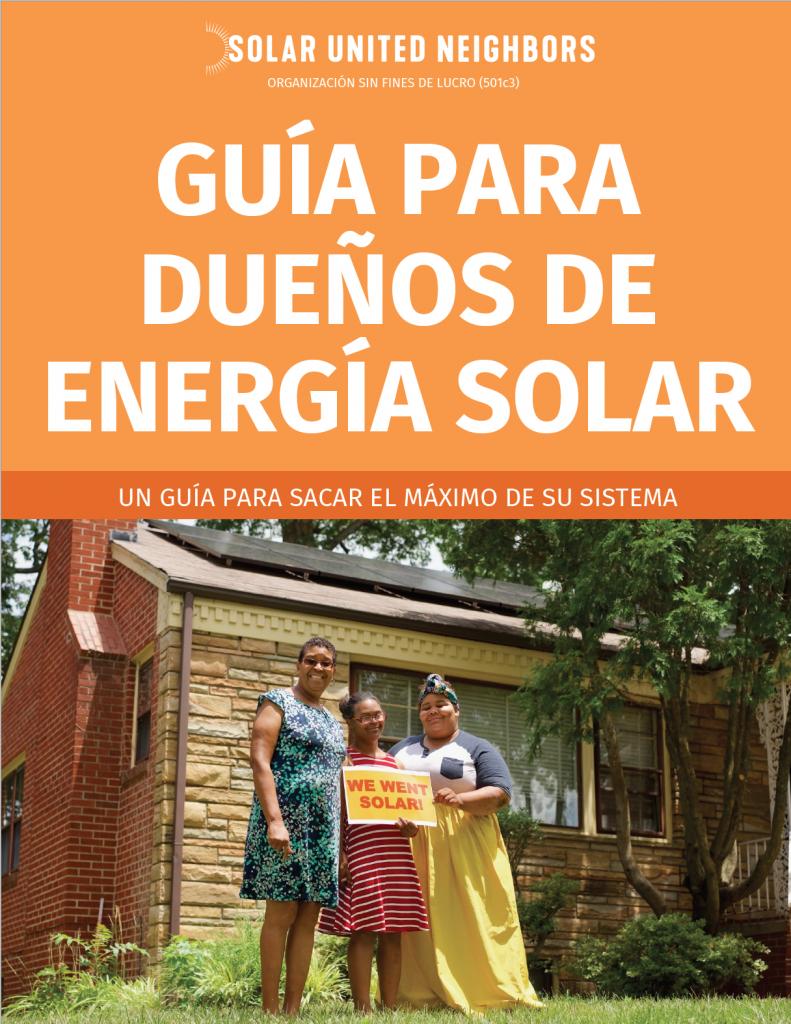 [Spanish] Cover - Solar Owner's Manual