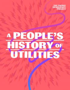 People's History of Utilities